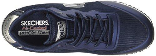 Sunlite Sneaker Vega Slip Skechers on Blau Navy Damen wXPq55On6