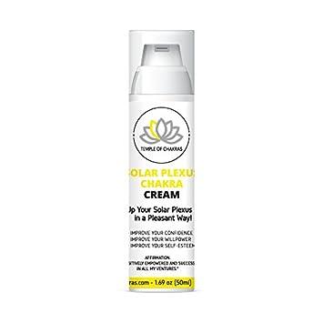 Amazon com: Natural Solar Plexus Chakra Cream (50 ml) will