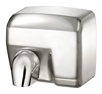 Palmer Fixture Hd0901 11 Conventional Series Commercial Hand Dryer Brushed Chrome