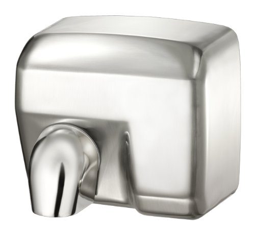 Palmer Fixture HD0901-11 Conventional Series Commercial Hand Dryer, Brushed Chrome