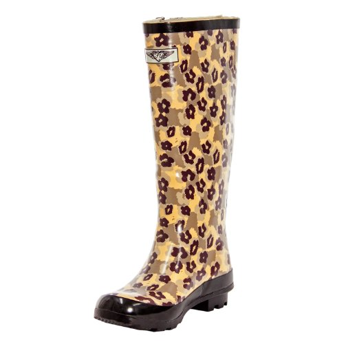 Evig Unge - Womens Wellie Rain Boot Dyr Camo