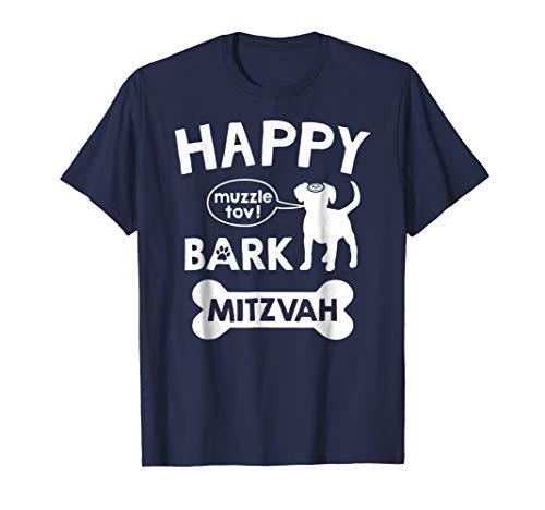 Bark Mitzvah T Shirt Jewish Dog Lover Bar Mitzvah Decoration