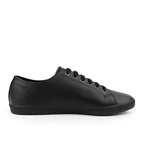 Fred Perry Kingston Leather White Noir