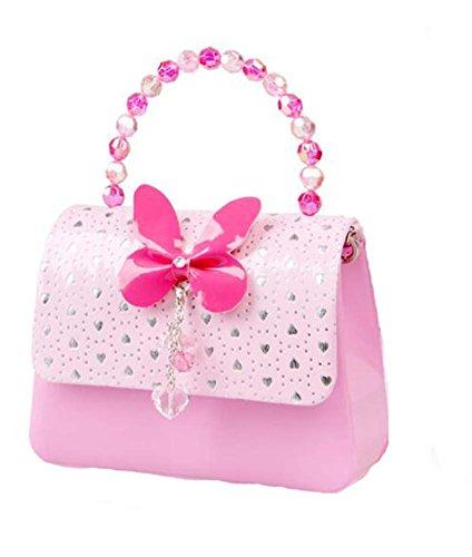 PANDA SUPERSTORE Princess Style Cartoon Child Messenger Bag/Lovely Pink Purse