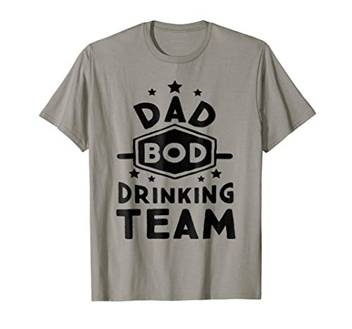 Mens Dab Bod Drinking Team Fathers Day T Shirt
