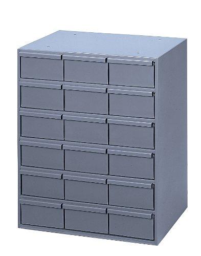 Durham 006-95 Gray Cold Rolled Steel Vertical Storage Cabinet, 17-1/4