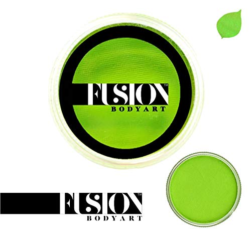 Fusion Body Art Face Paint - Prime Lime Green 32gr]()