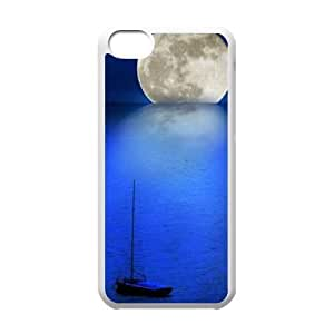 MMZ DIY PHONE CASEMoon ZLB599860 Customized Phone Case for iphone 5/5s, iphone 5/5s Case