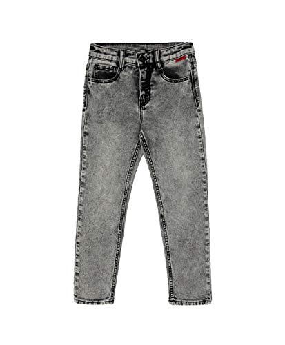 GULLIVER Jongens Jeans Broeken Kinderen Jeans Grijs Casual Regular Fit Denim Elastisch Slim Kids Boys 3-8 Jaar