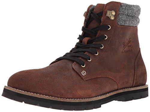 Explorer Mens (Woolrich Men's 1830 Explorer Chukka Boot, Chocolate/Ash, 10.5 M US)