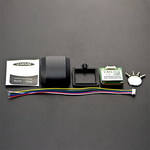 In ZIYUN GPS Module,GPS Module with Enclosure,GPS Receiver for Arduino,Can Be Used In Item Tracking