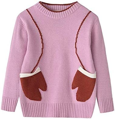 923b980e4 34 Years Pink Gaddrt Cute Children Baby Girls Boys Knitted Sweater Geometr  Sewing Warm Top Outfit