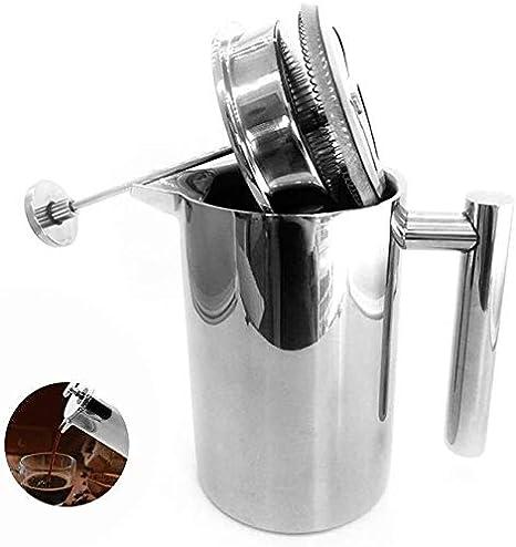 Cafeteras TD Francés Press, 1000 Ml / 34 Oz Té del Acero Inoxidable del Pote, Apto For Lavavajillas Fácil de Usar: Amazon.es: Hogar
