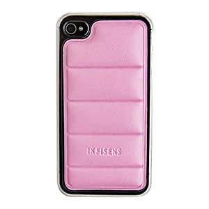 Exquisite Body Armor Back Case for iPhone 4/4S(Assorted Color) --- COLOR:Blue