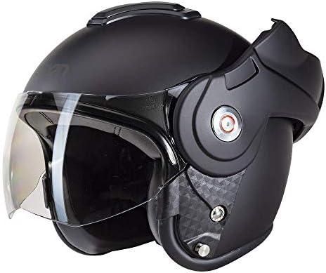 Beon B702 Reverse Matt Schwarz Klapphelm Motorrad Helm Xxl Auto