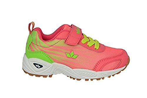 GEKA 360471 - Zapatillas para deportes de interior para niña Verde - Lemon