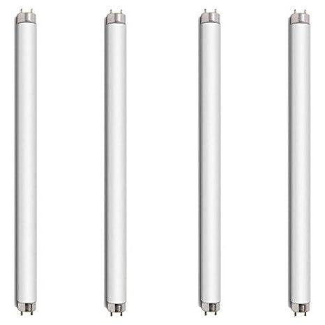 4 x 8 Watt 30,48 cm tubos de - juego de bombillas para 16