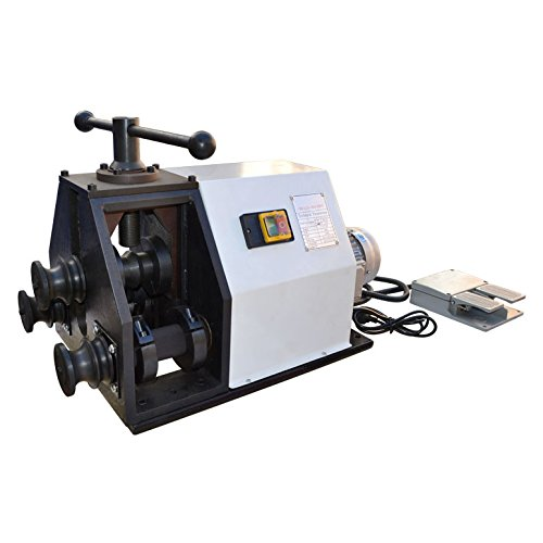 Electric Round Square Tube Pipe Bender Ring Roller 110 Volt from DBM IMPORTS