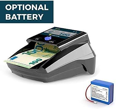 Detectalia D7 TFT Detector de billetes falsos para EUR y USD con fiabilidad 100/%