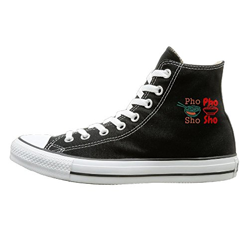 SH-rong Phosho High Top Sneakers Canvas Shoes Design Sport Shoes Unisex Style Size 35