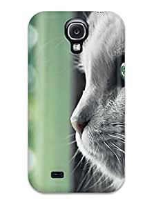 0PKC6B2NRMCYHPSA Case Cover Protector For Galaxy S4 Cat By The Window Pane Case