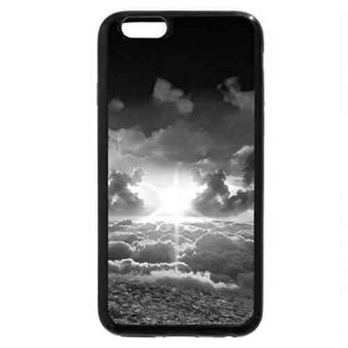 iPhone 6S Plus Case, iPhone 6 Plus Case (Black & White) - Skies of autumn
