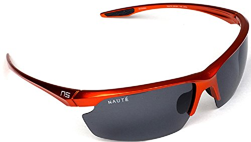 Naute Sport The Loca Ultra Lightweight Polarized Sunglasses (Orange, - Loco Sunglasses