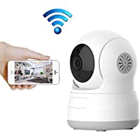 WiFi IP Camera, Aisino HD 720P Home Indoor Wireless Security Surveillance Camera Monitor with Speaker/2 Way Audio/Motion Detection/Pan Tilt/Night Vision for Baby/Elderly/Pet/Nanny Cam