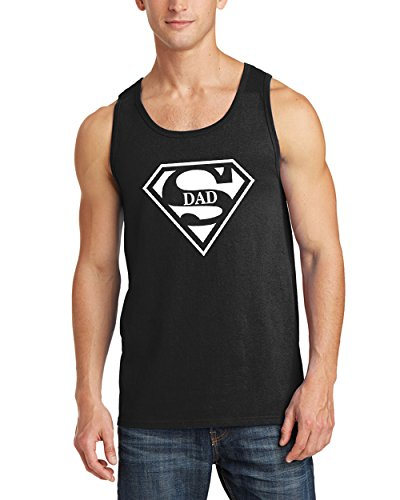 Superman+tank+tops Products : Fathers Day Gifts Tank Tops for Men Super DAD Superman Men's Tank Top Shirts