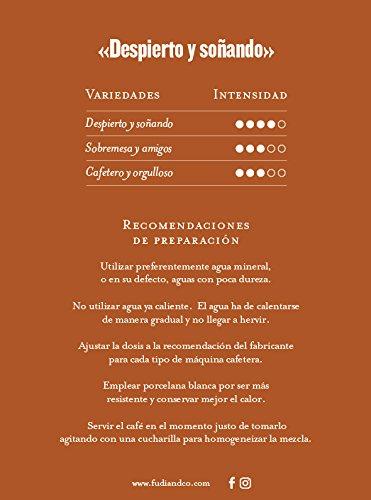 Fudi&Co - DESPIERTO Y SOÑANDO - Café de especialidad de Costa Rica - 4 Paquetes de 10 Cápsulas c/u Compatibles Nespresso ® - 100% Compostable: Amazon.es: ...