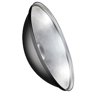Walimex Beauty Dish - Accesorio para Aurora y Bowens (70 cm)