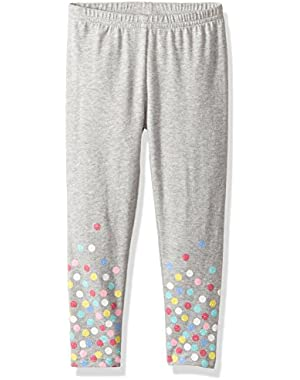 Baby Girls' Polka Dot Print Leggings