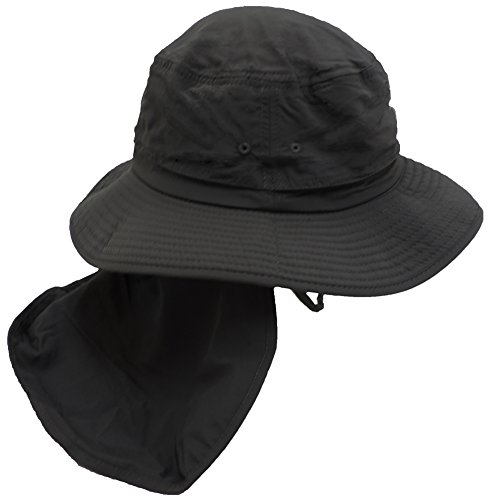 american outdoorsman the hunter bucket hat charcoal
