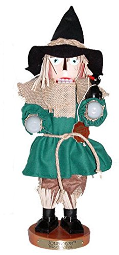 Retired Signed Herr Christian & Karla Steinbach Scarecrow Nutcracker Wizard (Steinbach Signed)