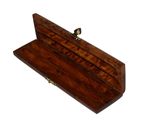 - Thuya Wood Moroccan Handcrafted Box with Light Wood Inlaid Imported Top High Quality Satifaction Guarranteed
