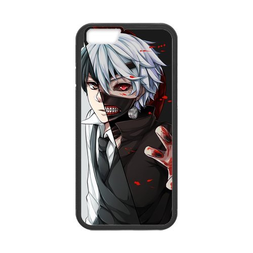 """Fayruz - iPhone 6 Rubber Cases, Tokyo Ghoul Hard Phone Cover for iPhone 6 4.7"""" F-i5G170"""