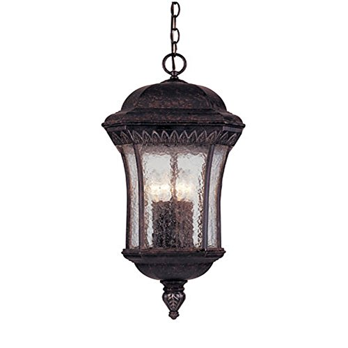 Savoy House 5-1168-59 Windamere 4 Light Outdoor Hanging Lantern Light Fixture Renaissance