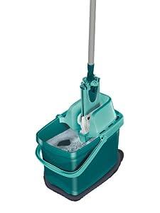 Leifheit 55356 Set Combi Clean inkl. Eimer mit Presse und Bodenwischer mit...