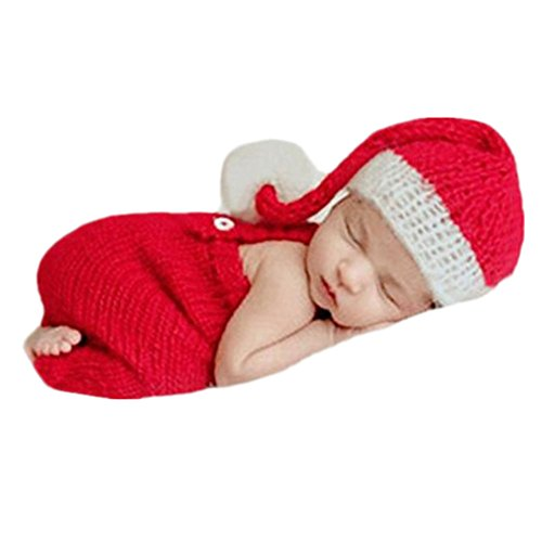 Baby Girl Christmas Outfits Newborn - Fashion Newborn Boy Girl Baby Costume Outfits Photography Props Christmas Hat Rompers