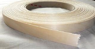 Pre Glued Iron on Birch Wood Veneer Edging Tape, 50mm x 10metres *Free Postage, Fast Dispatch*