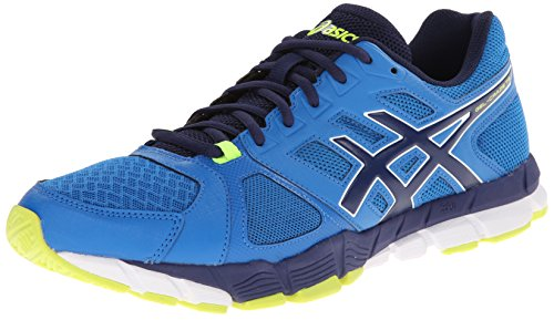 ASICS Men's Gel-Craze TR 2 Training Shoe,Sapphire/Midnight/Flash Yellow,15 M US