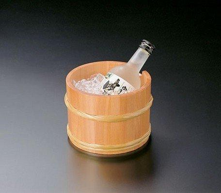Yamako Japanese Style Wooden Sake Wine Cooler (M) 12331 Made in Japan by Yamako