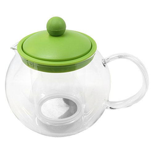 Gibson Furcio Tea Pot 23oz. Glass-Green