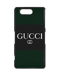 Sony Xperia Z3 Compact Fundas Case Gucci Logo, Modern Brand Logo Case Fundas for Sony Xperia Z3 Compact Schwarz Phone Case Bumper for Man