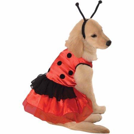 [Lovely Ladybug Halloween Pet Costume (Multiple Sizes Available)] (Pet Ladybug Costume)