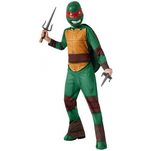 Ninja Turtle Outfits Adults (Teenage Mutant Ninja Turtles Raphael Costume, Large)
