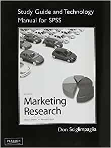 marketing research essentials with spss paperback