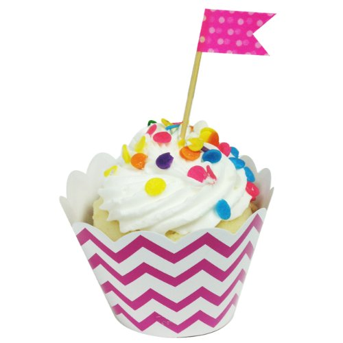 Wrapables Standard Chevron Cupcake Wrappers