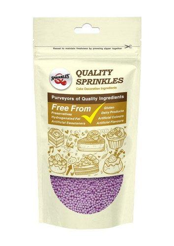 Quality Sprinkles NaturalPurpleGluten GMO Nuts Dairy Soy Free100's & 1000's Bulk Pack.