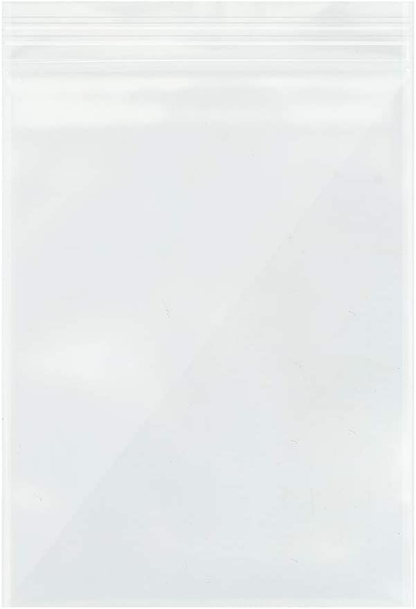 Heoawrk 3''x 4'' Small Clear Ziplock Poly Bags, 100pcs Resealable Plastic Zipper Bags, 2 Mil Thick - Food Grade Safe. Great for Candy, Cookies, Jewelry, Pill, and Party Favors